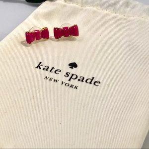 🎉SALE🎉Kate Spade pink bow stud earrings